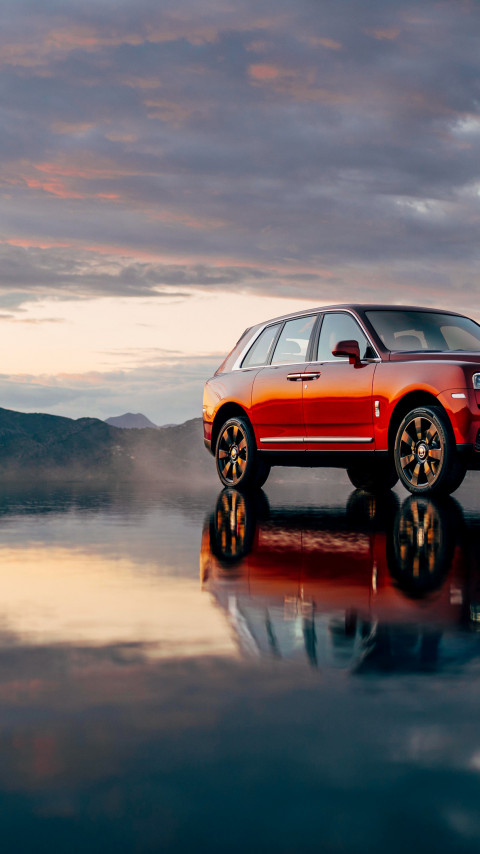 Rolls Royce Cullinan | 480x854 wallpaper