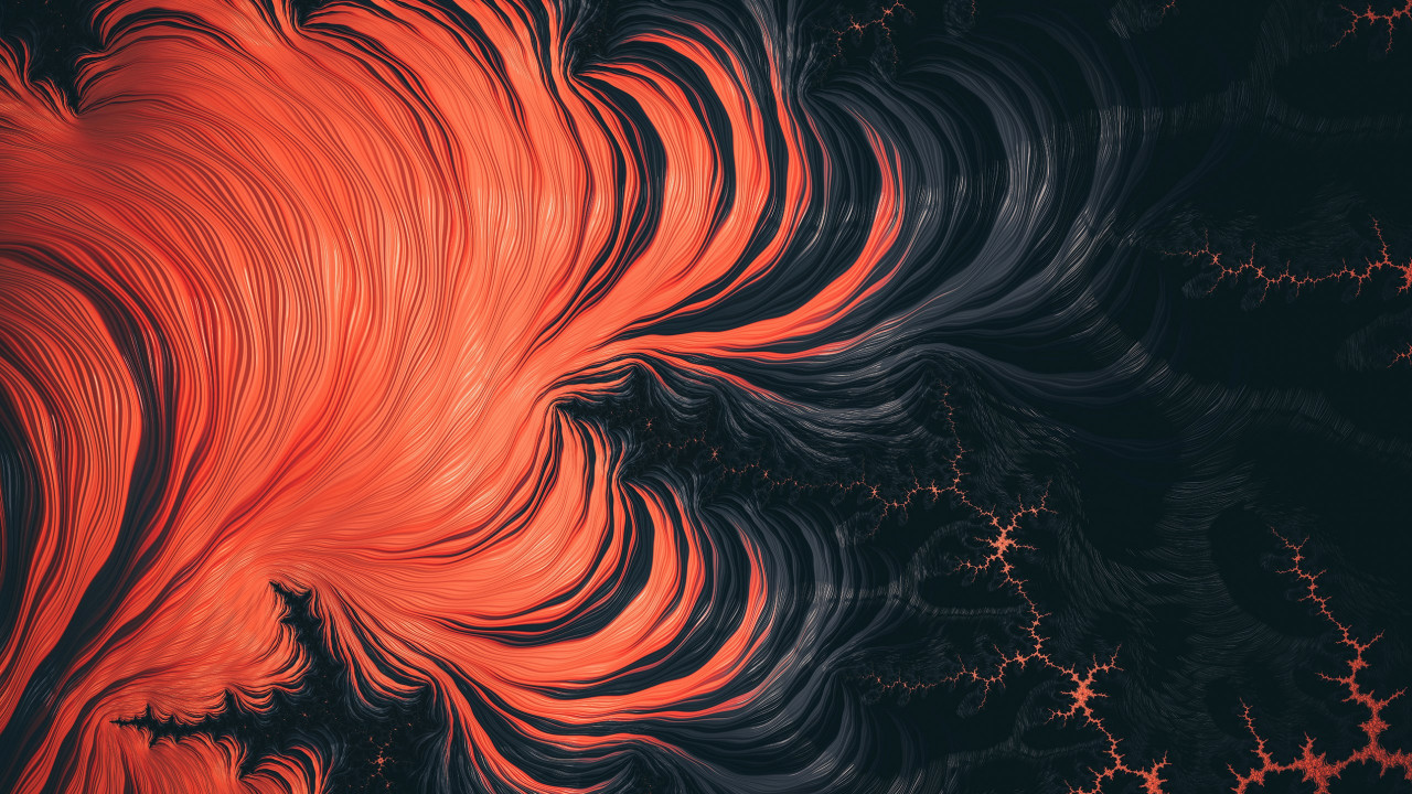 Fractal Art: Hyperventilation wallpaper 1280x720