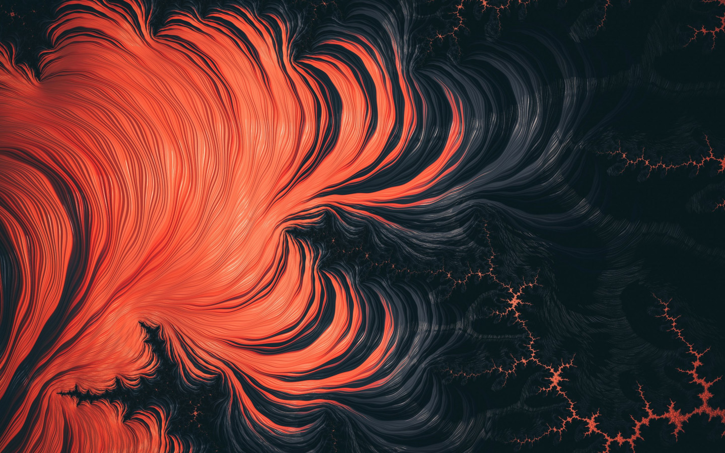 Fractal Art: Hyperventilation wallpaper 1440x900