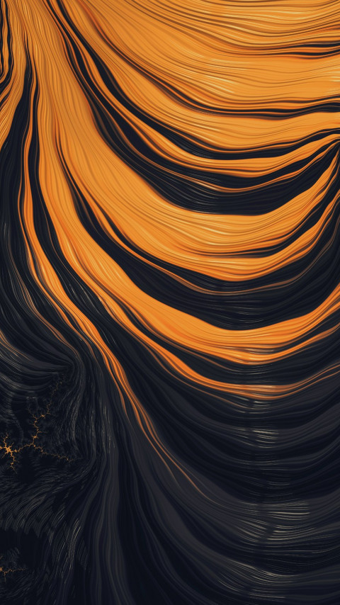 Fractal Art: Palpitations wallpaper 480x854