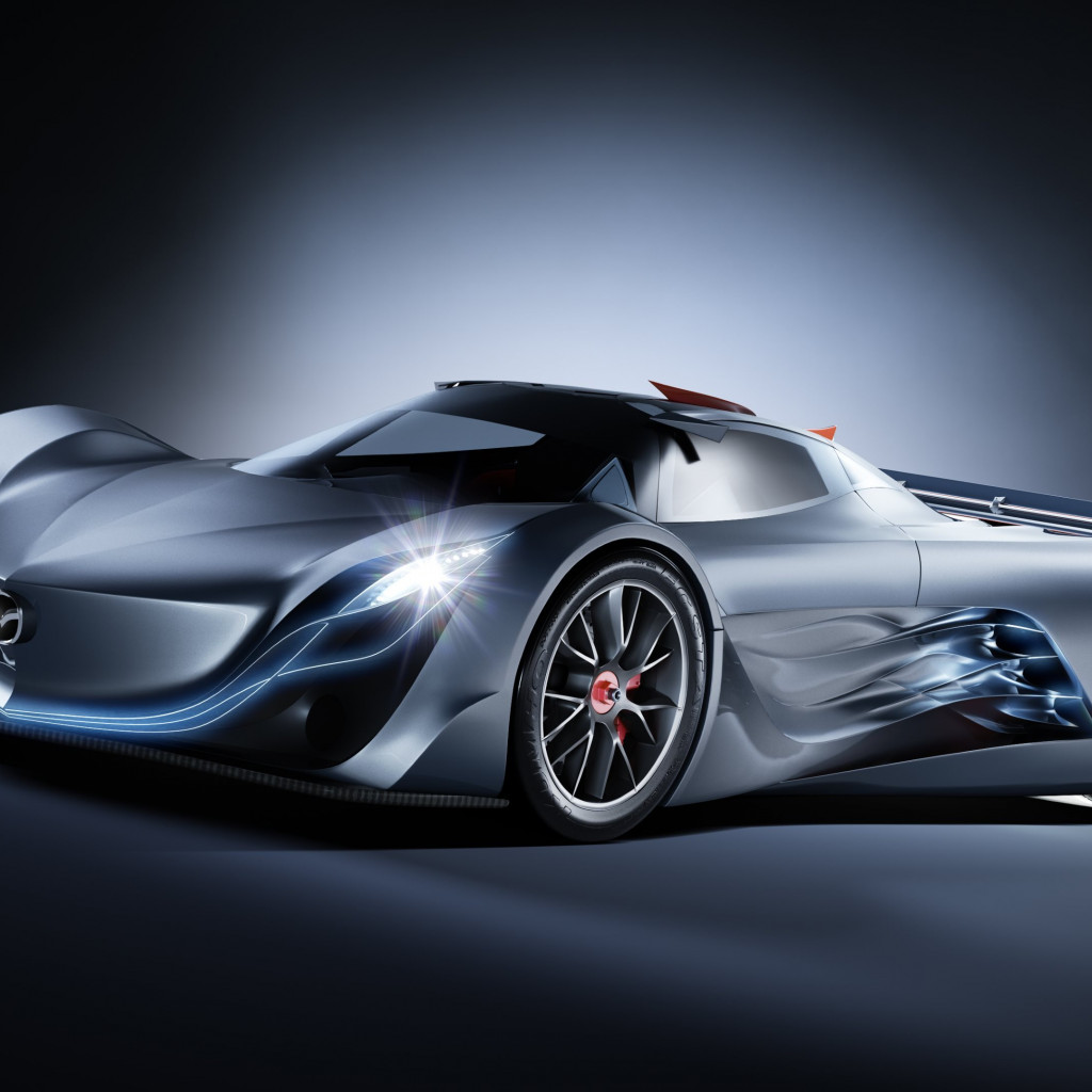 Mazda Furai wallpaper 1024x1024