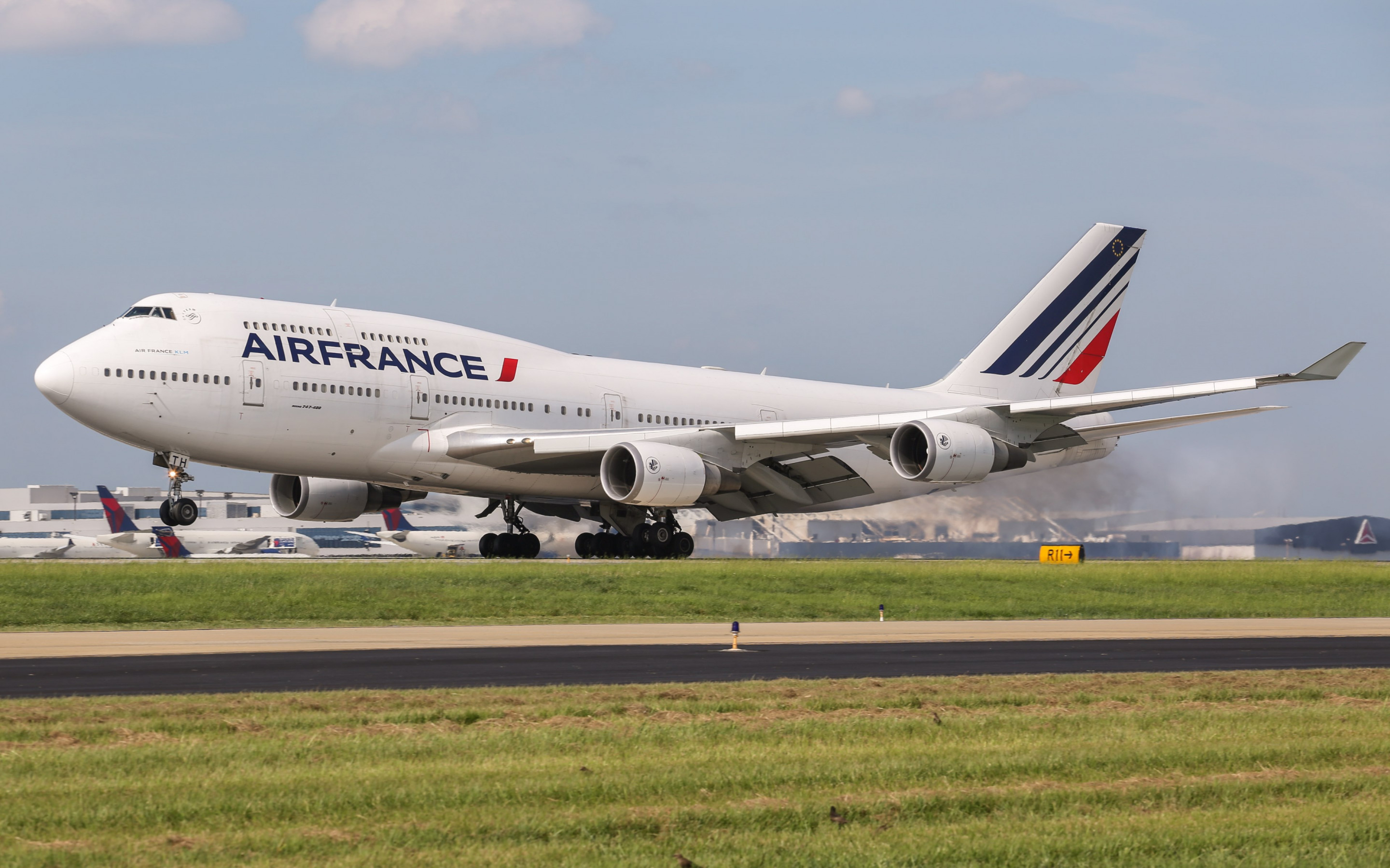 Download Wallpaper Air France Boeing 747 2880x1800