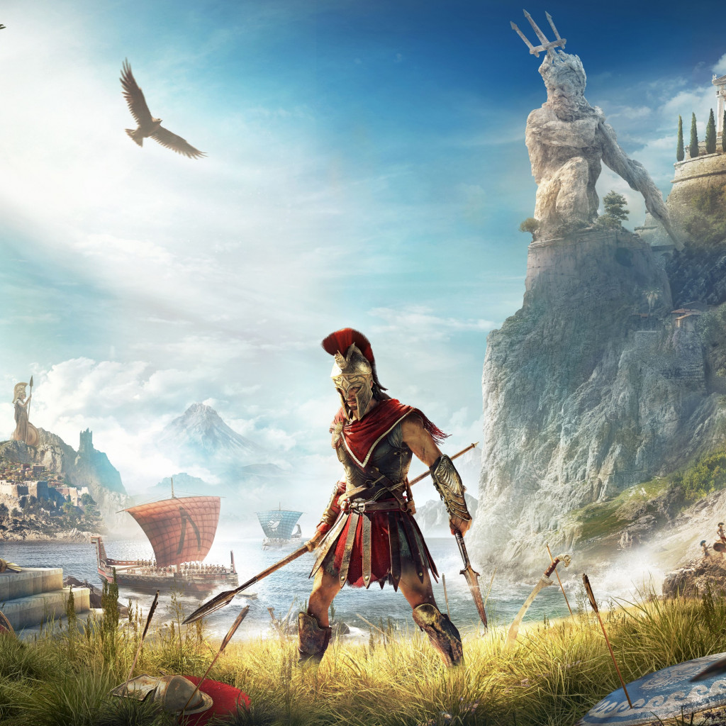 Assassin's Creed Odyssey wallpaper 1024x1024