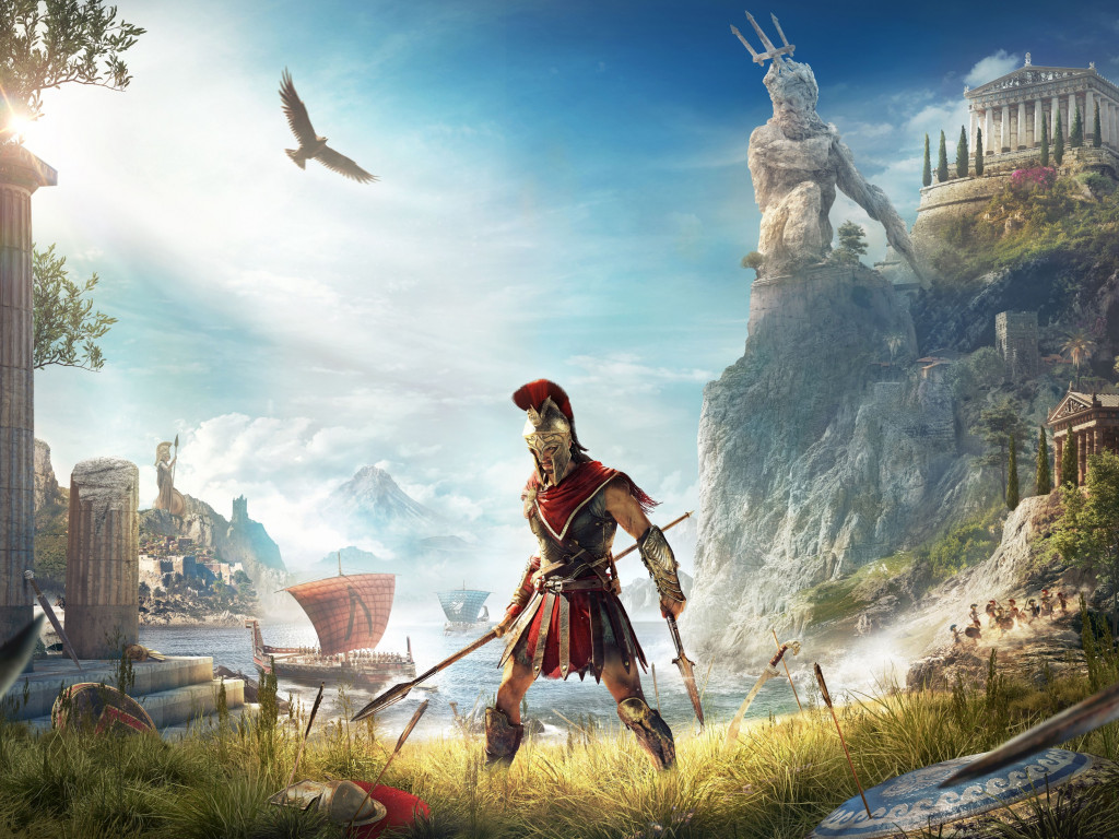 Assassin's Creed Odyssey wallpaper 1024x768