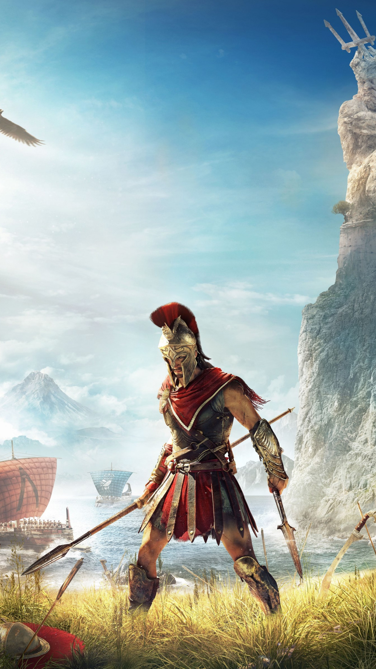 Assassin's Creed Odyssey wallpaper 1242x2208