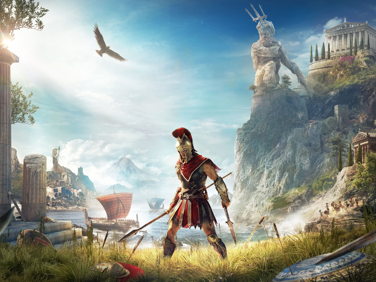 Assassin's Creed Odyssey wallpaper 1280x960