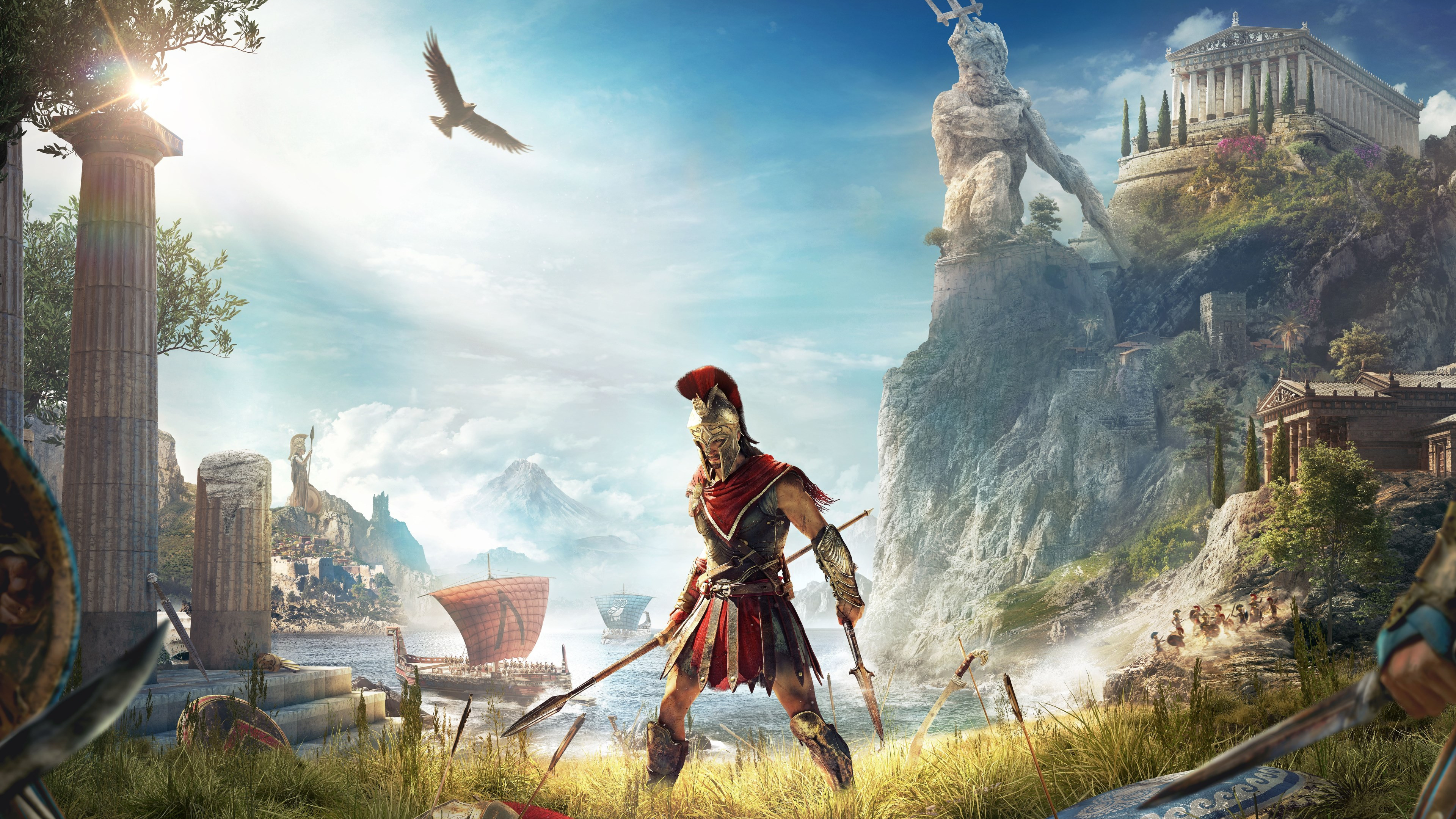 Assassin's Creed Odyssey wallpaper 3840x2160