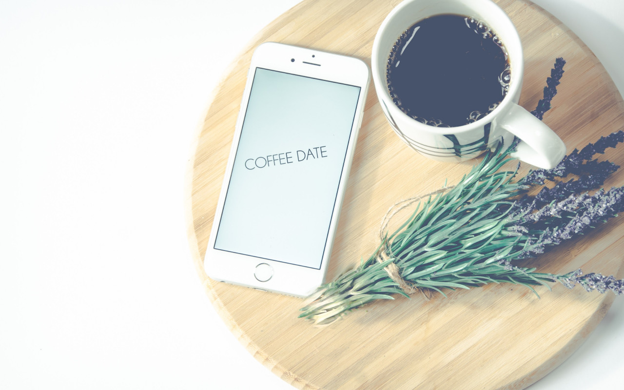 Coffee date | 1280x800 wallpaper