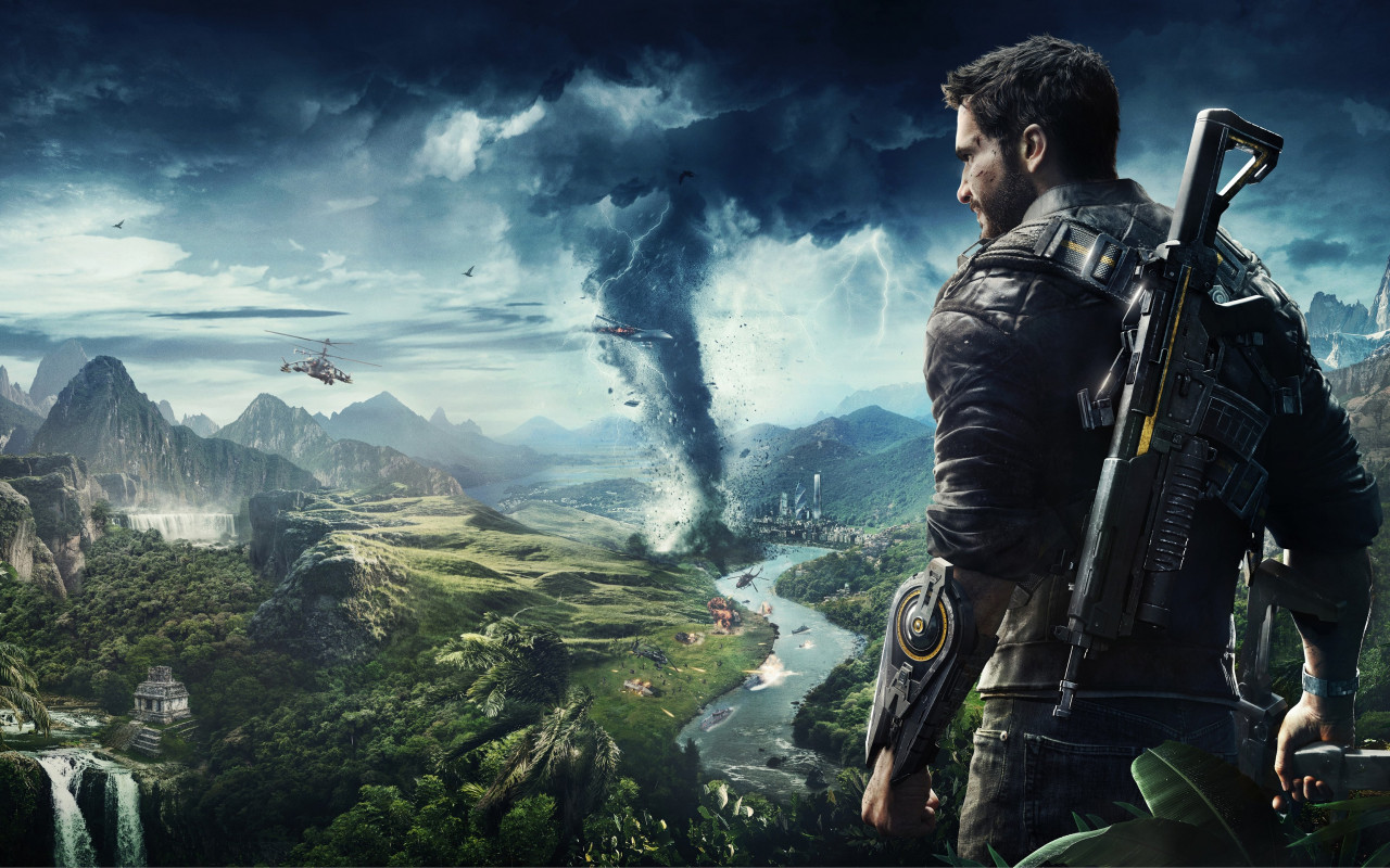 Just Cause 4 wallpaper 1280x800