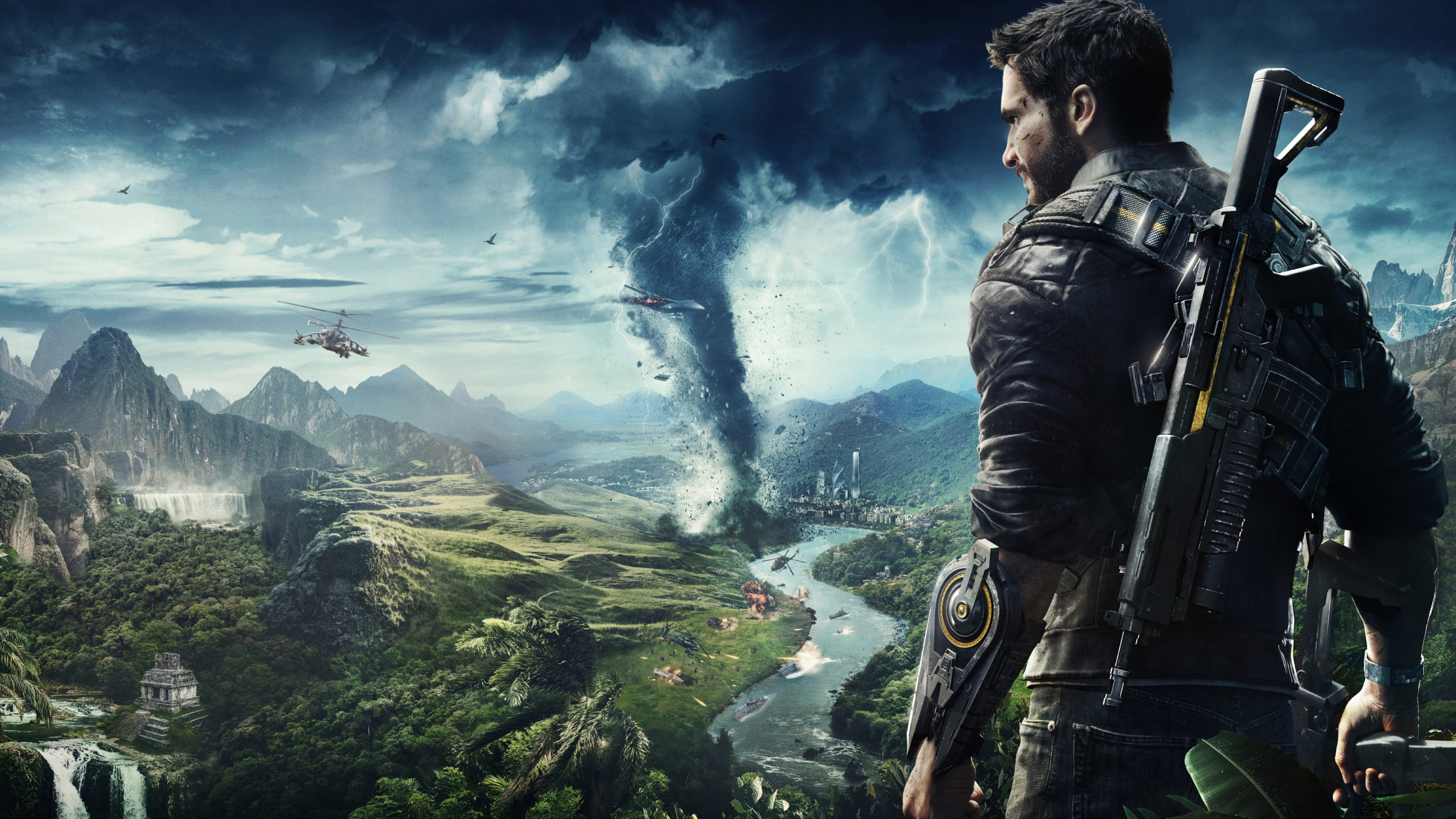 Just Cause 4 wallpaper 2880x1620