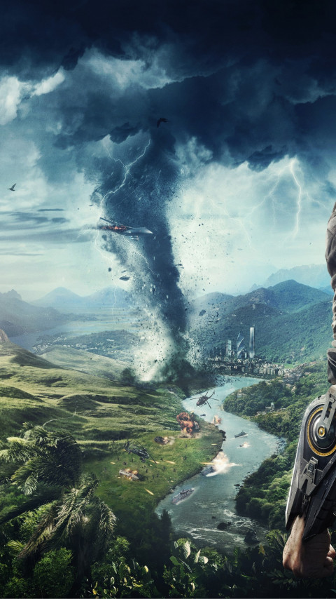 Just Cause 4 wallpaper 480x854