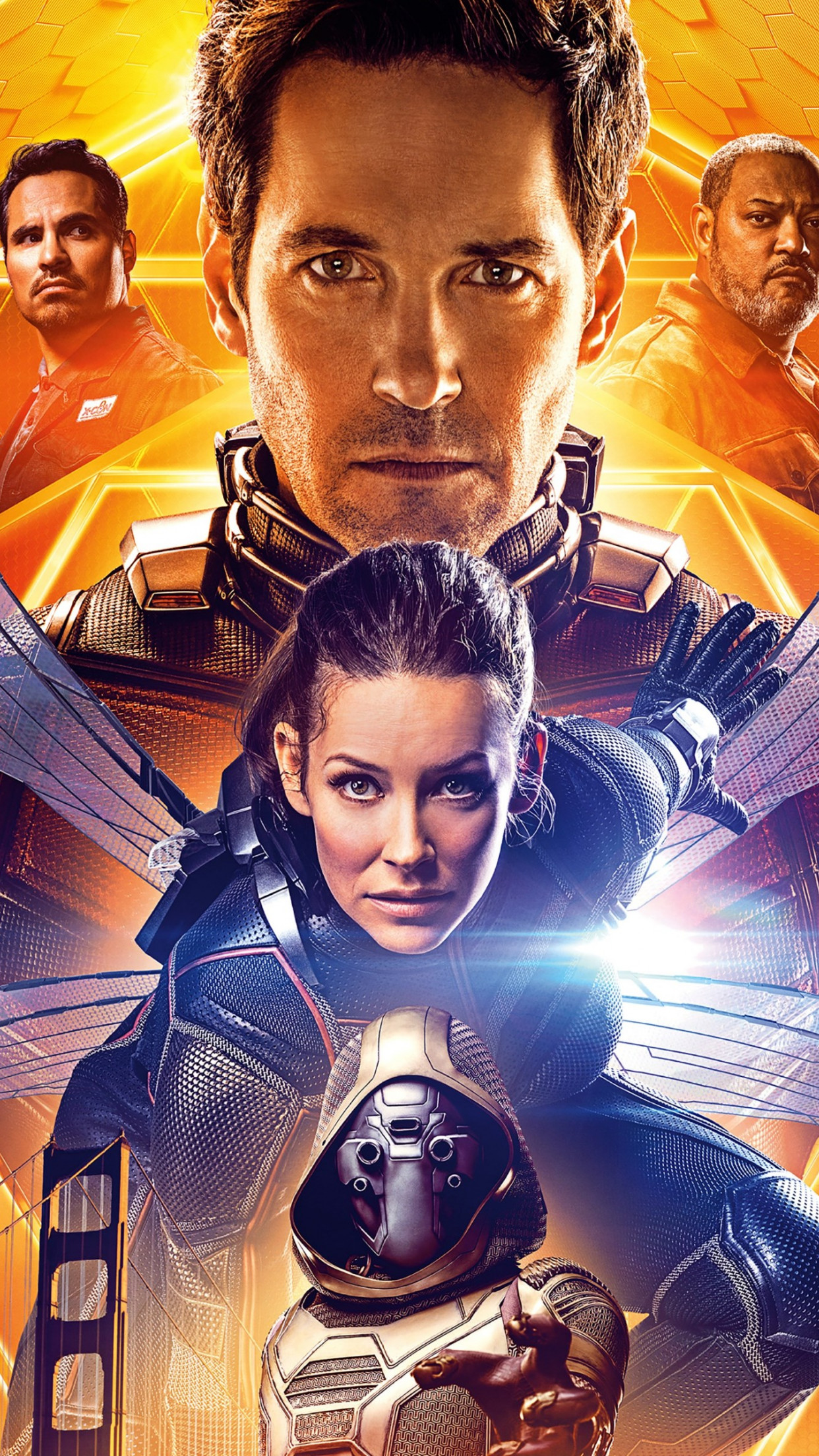 Ant Man and the Wasp poster wallpaper 1242x2208