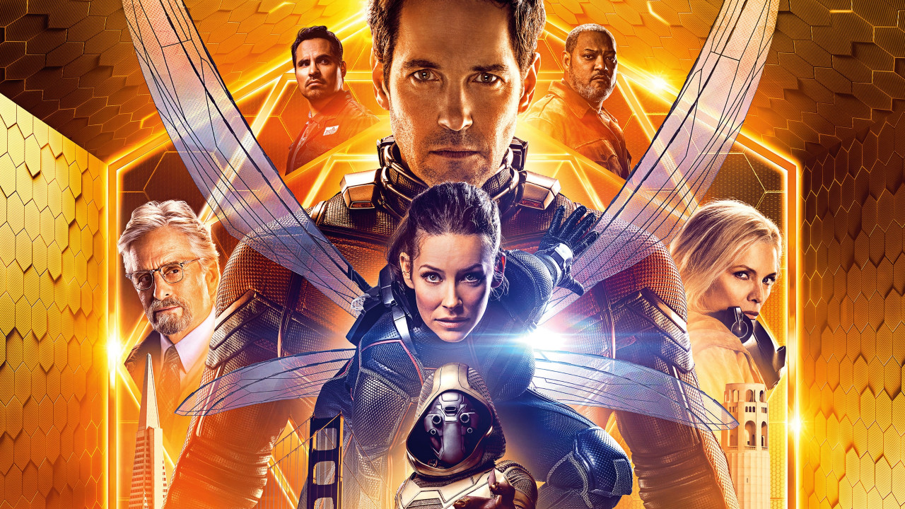 Ant Man and the Wasp poster wallpaper 1280x720