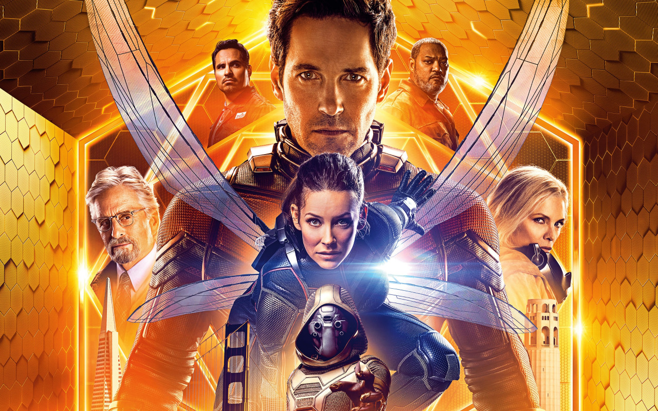 Ant Man and the Wasp poster wallpaper 1280x800