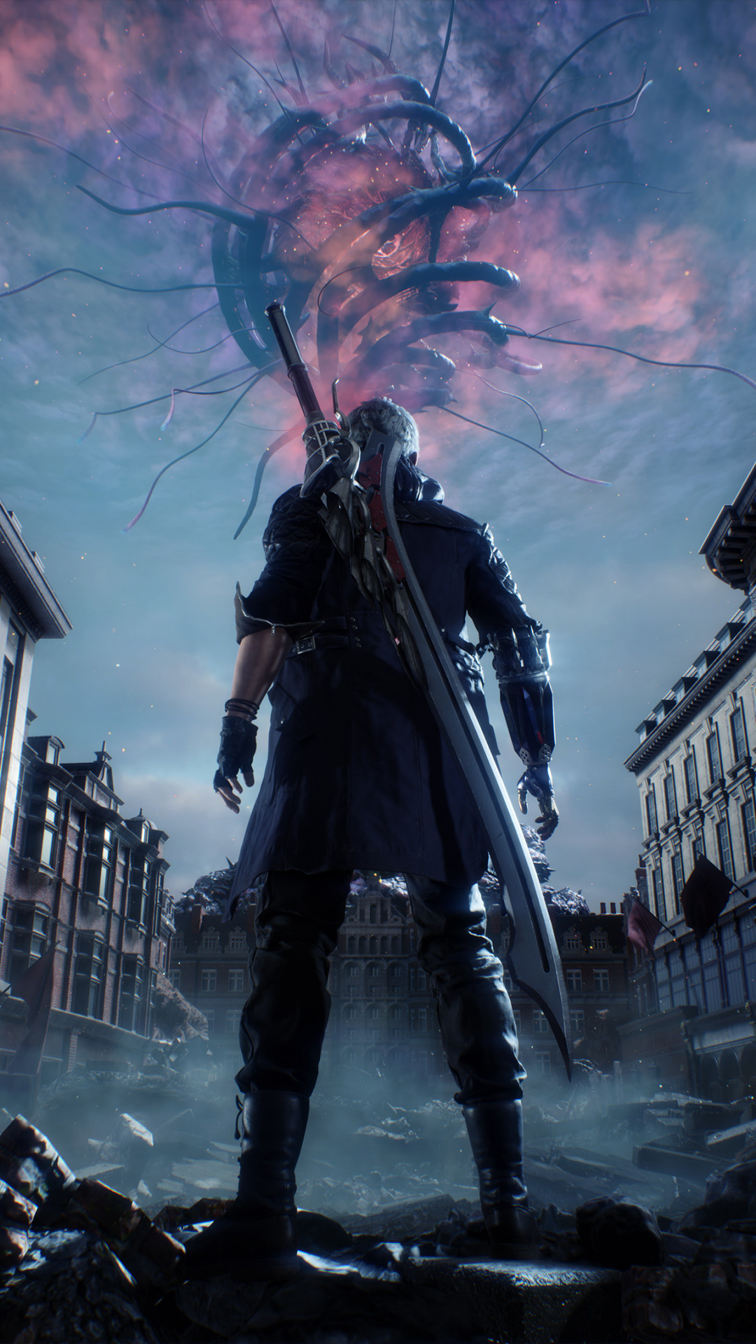 Download Wallpaper Nero From Devil May Cry 5 1080x1920