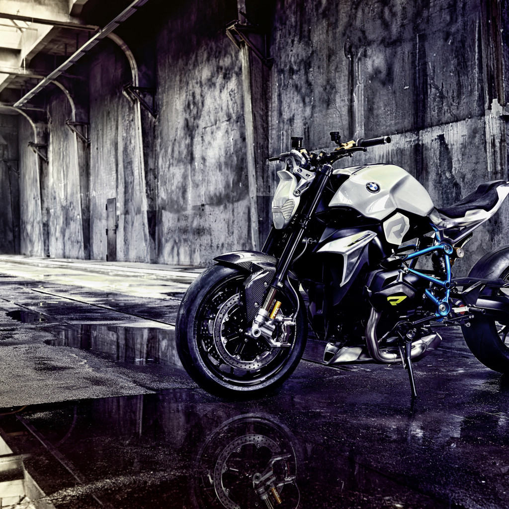 BMW Concept Roadster Motorcycle | 1024x1024 wallpaper