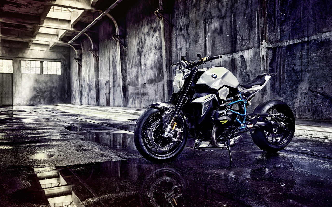 BMW Concept Roadster Motorcycle wallpaper 1280x800