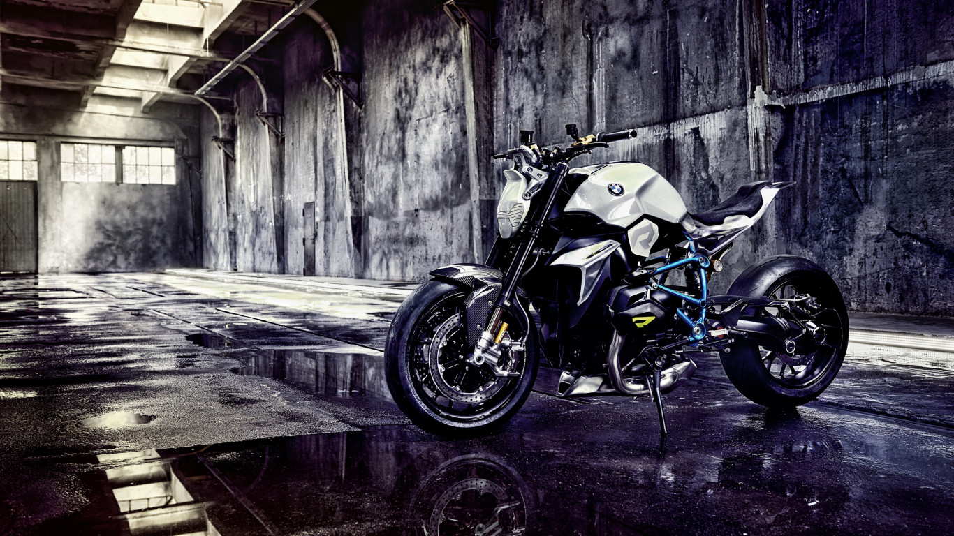 BMW Concept Roadster Motorcycle wallpaper 1366x768