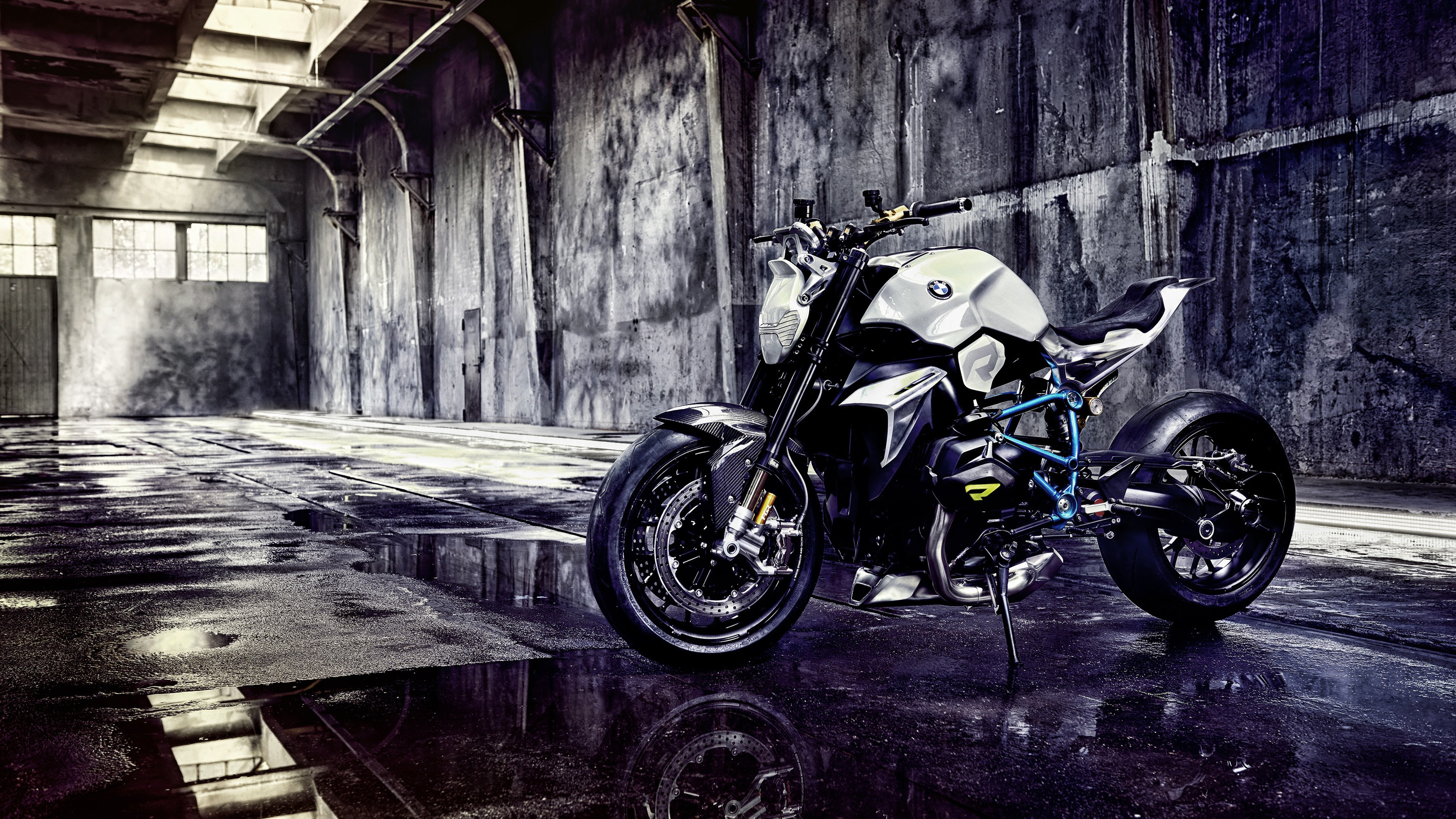 BMW Concept Roadster Motorcycle wallpaper 3840x2160