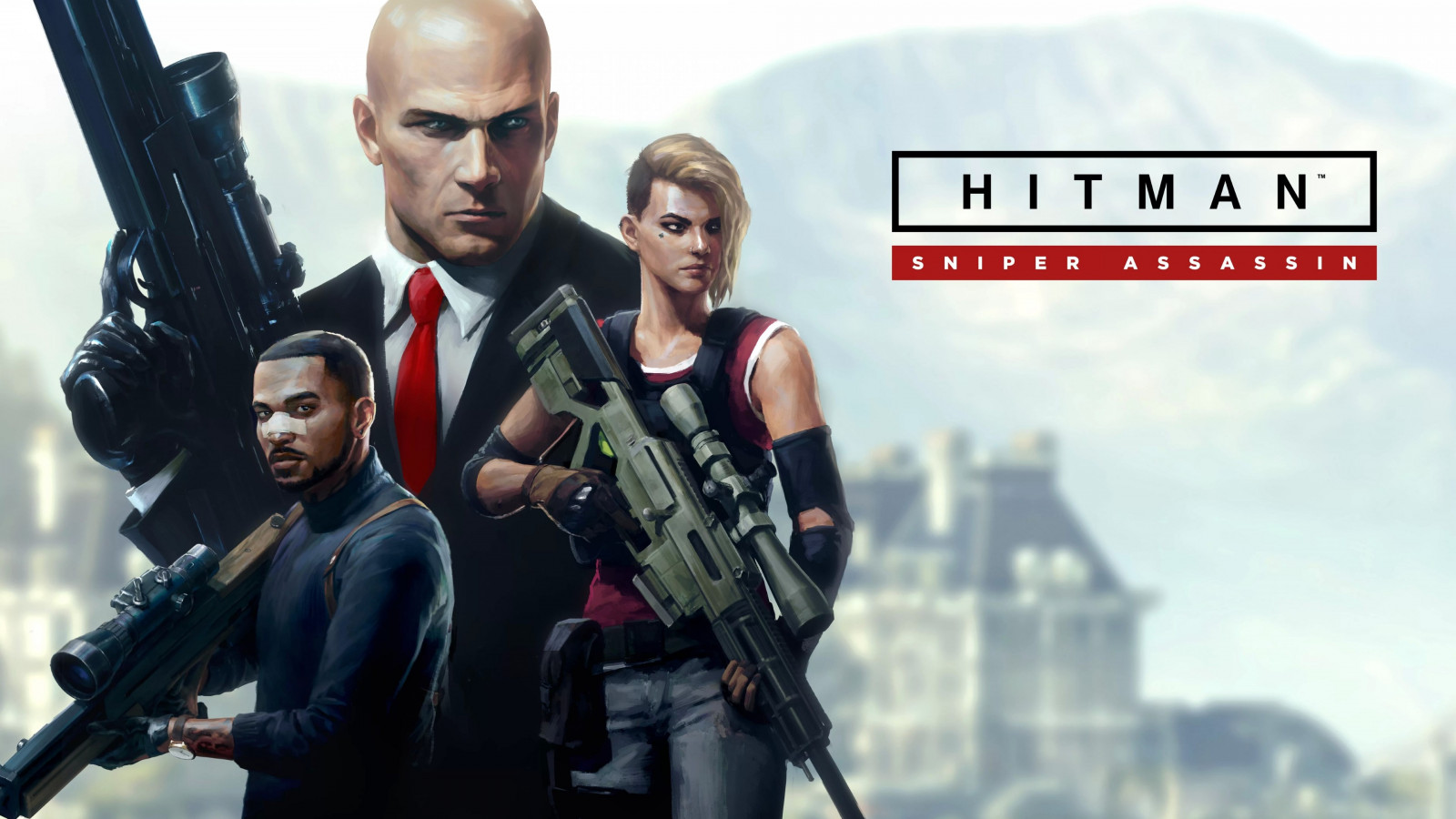 Hitman Sniper Assassin | 1600x900 wallpaper