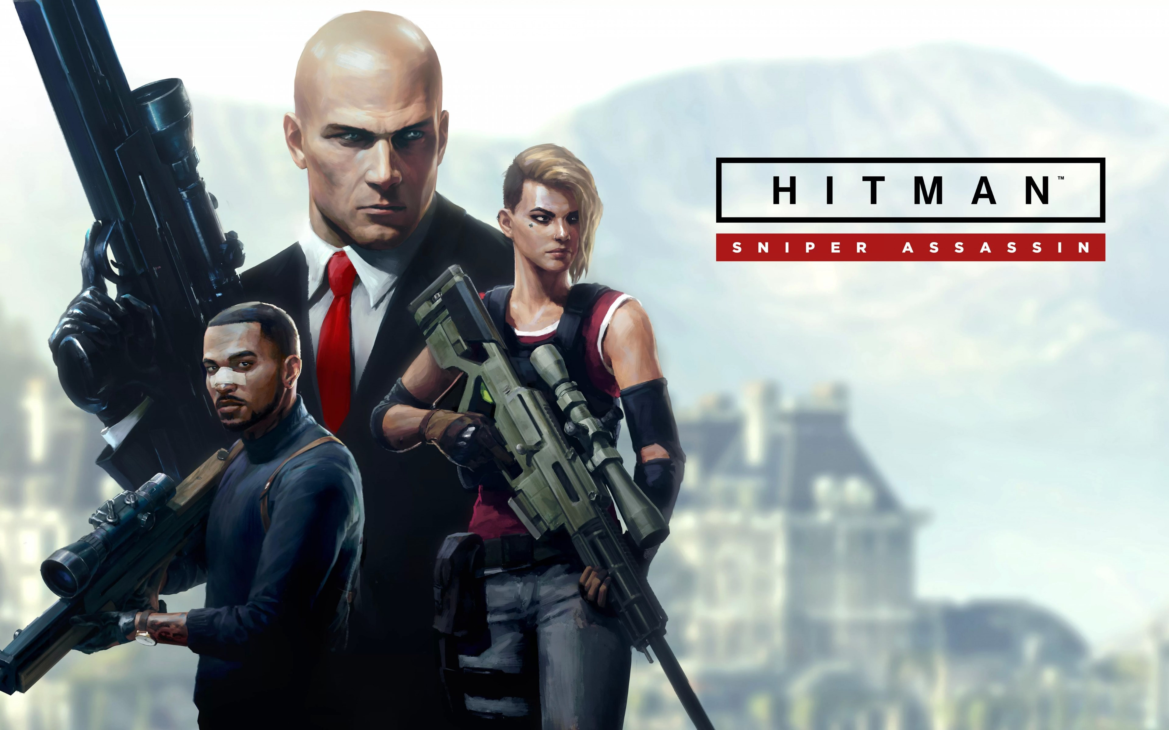 Hitman Sniper Assassin wallpaper 3840x2400