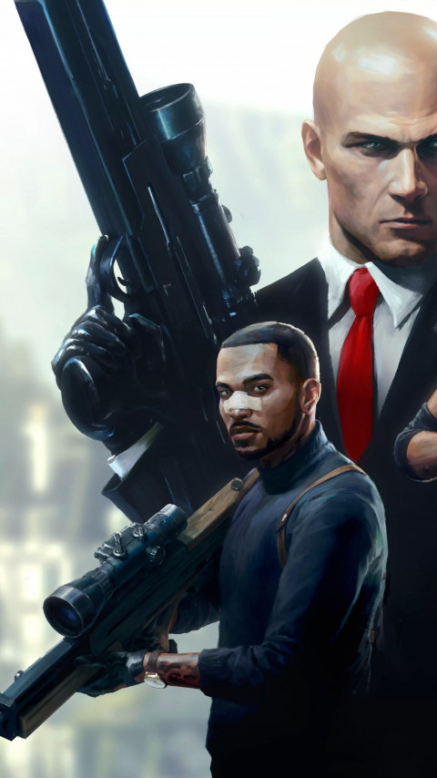 Hitman Sniper Assassin wallpaper 480x854
