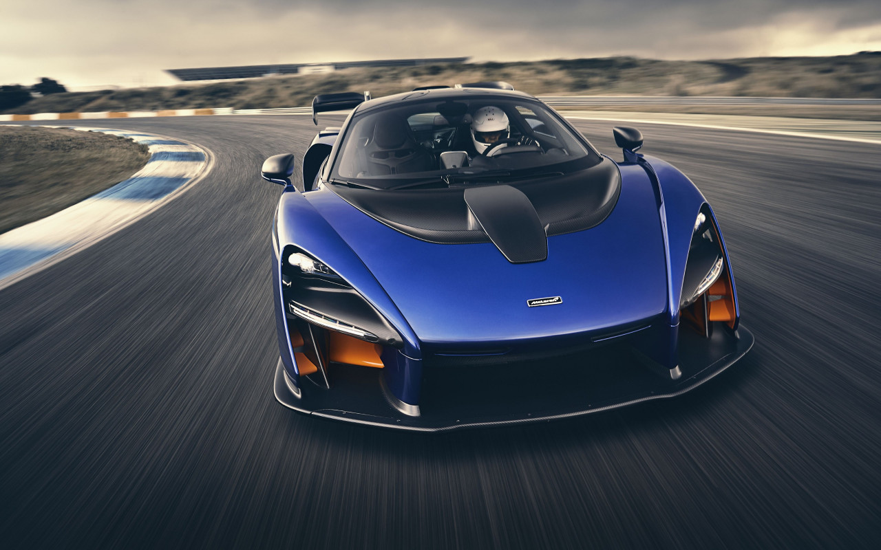 McLaren Senna wallpaper 1280x800