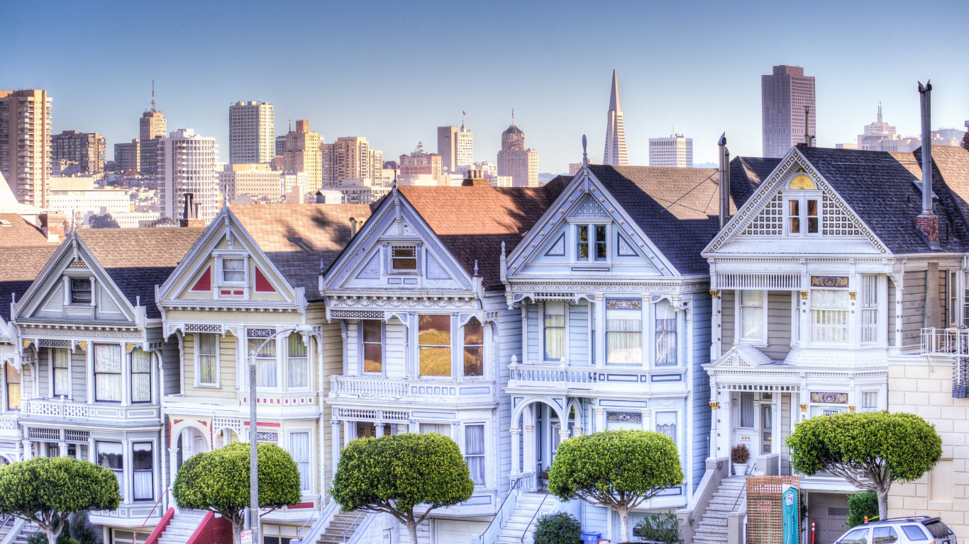 Painted Ladies wallpaper 1366x768