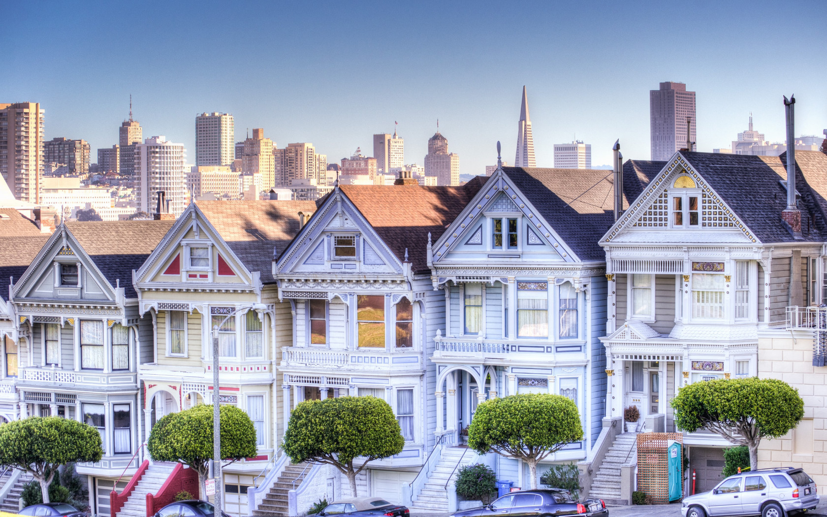 Painted Ladies wallpaper 1680x1050