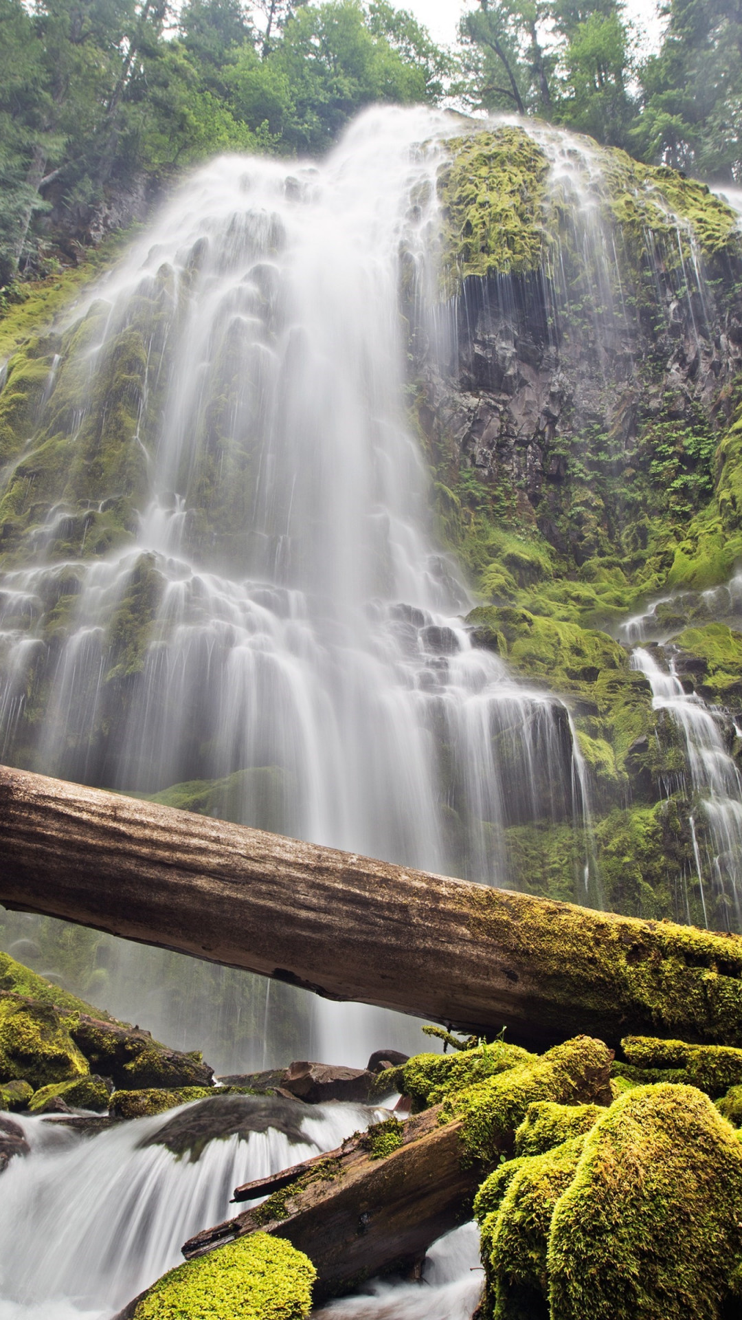 Proxy falls wallpaper 1080x1920