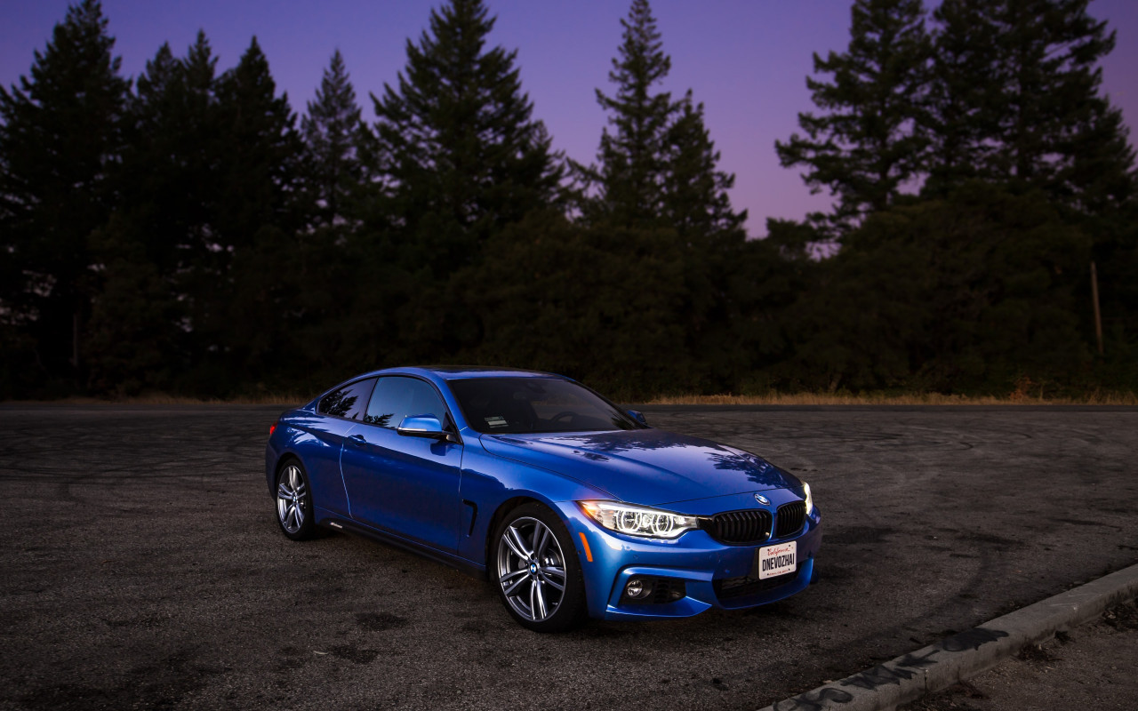 BMW 440i M wallpaper 1280x800
