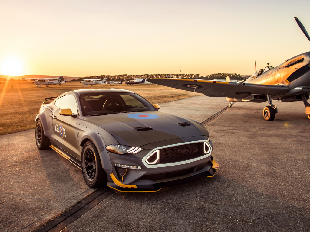 Ford Eagle Squadron Mustang GT wallpaper 1024x768