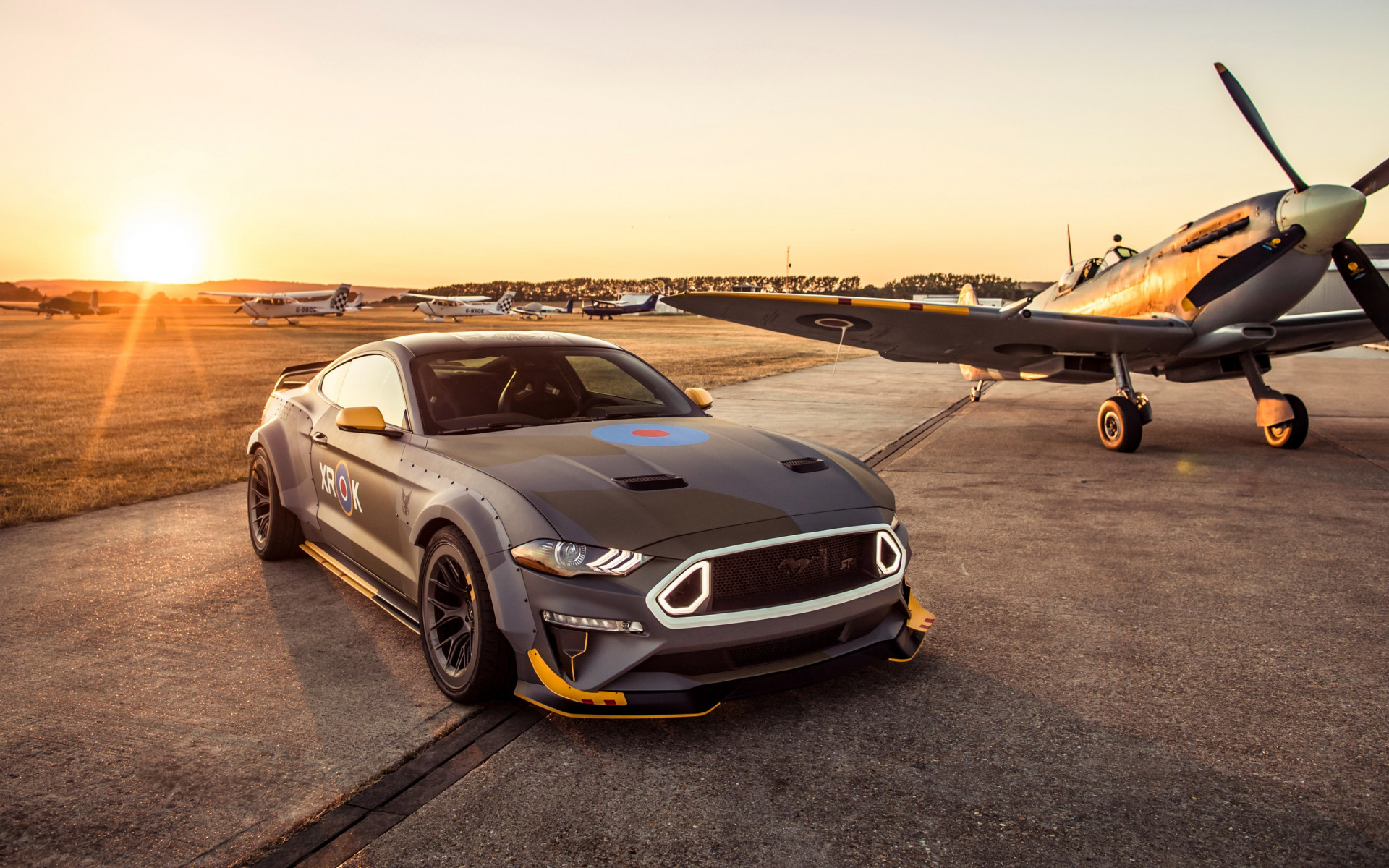 Ford Eagle Squadron Mustang GT wallpaper 1920x1200