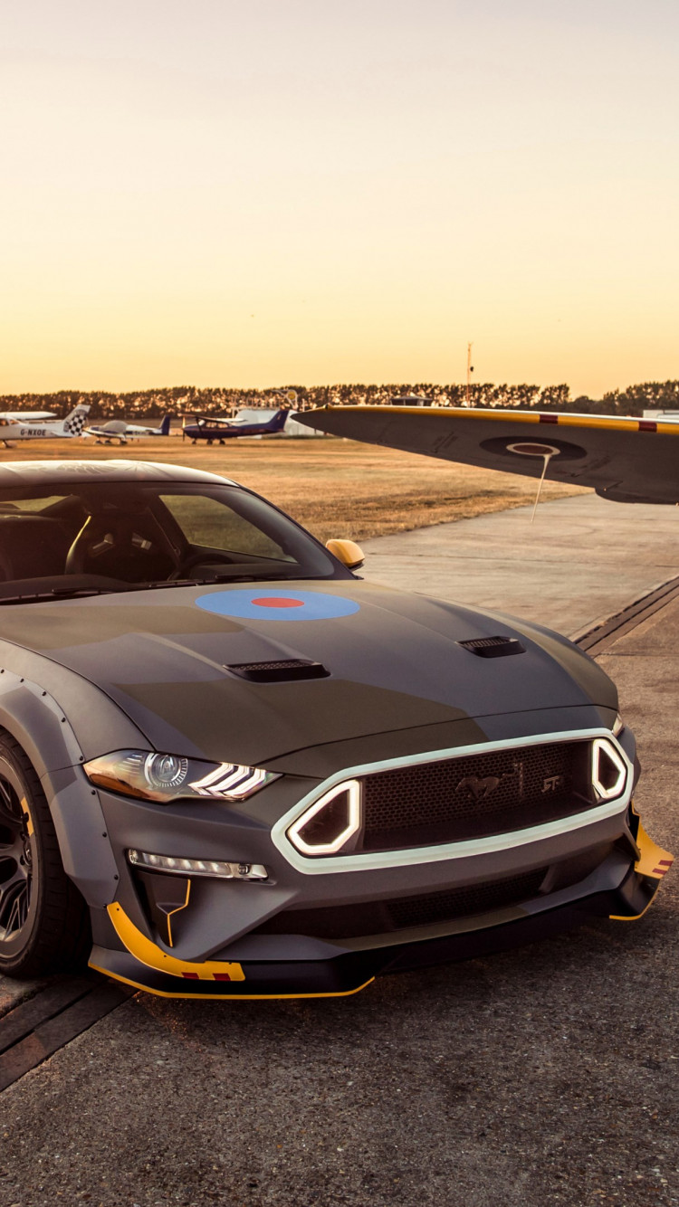 Download Wallpaper Ford Eagle Squadron Mustang Gt 750x1334