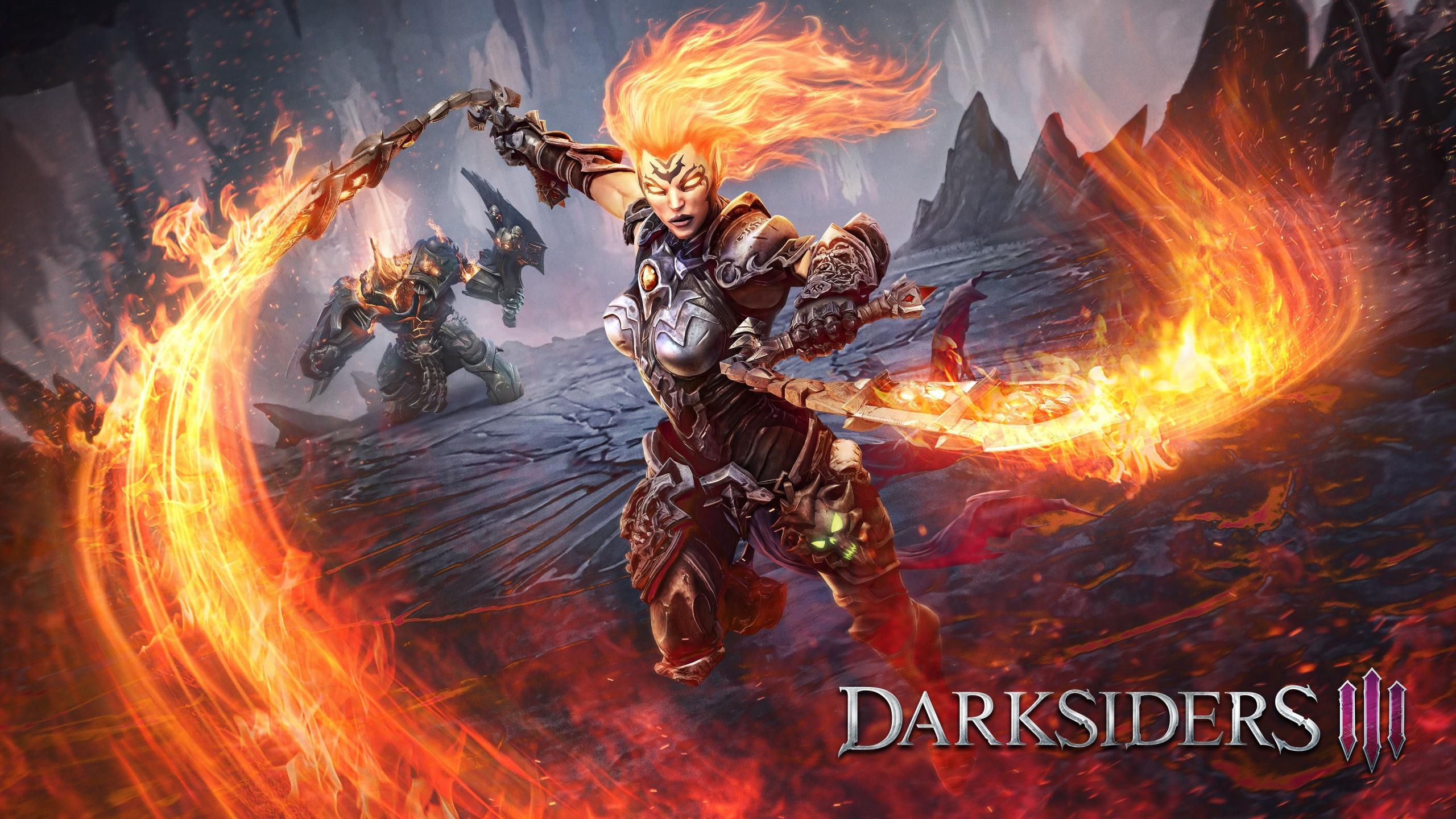 Download Wallpaper Darksiders Iii 2560x1440
