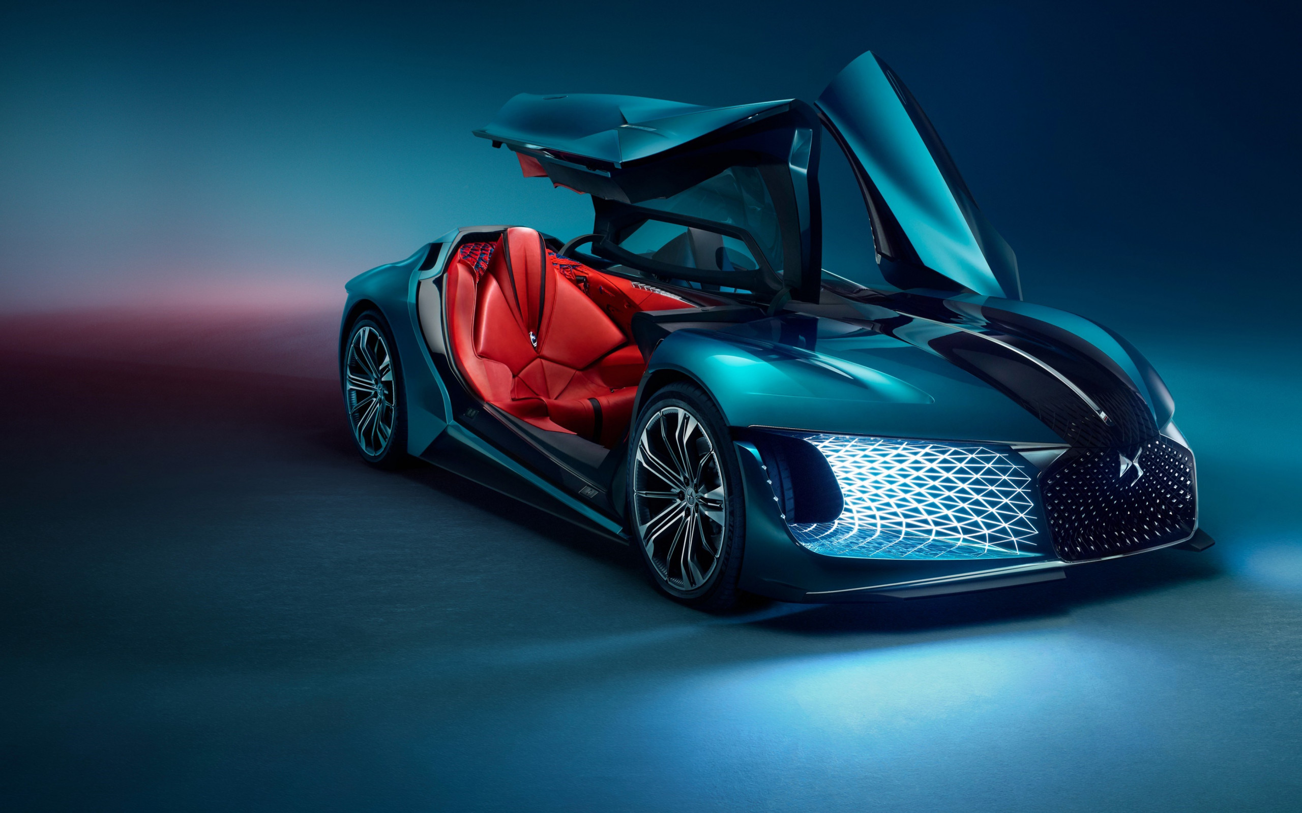 DS X E Tense concept wallpaper 2560x1600