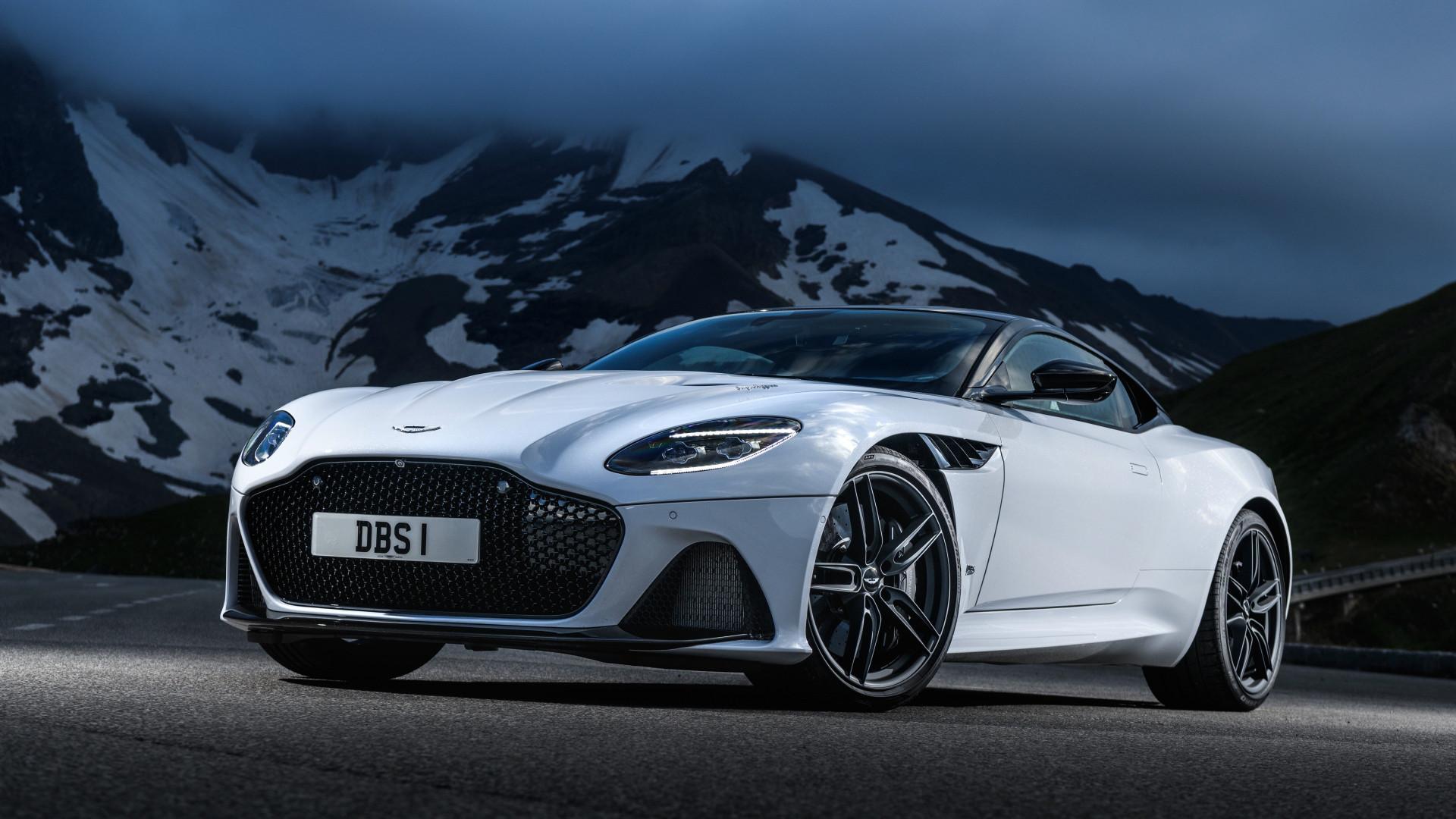 Download Wallpaper Aston Martin Dbs Superleggera 2018 1920x1080