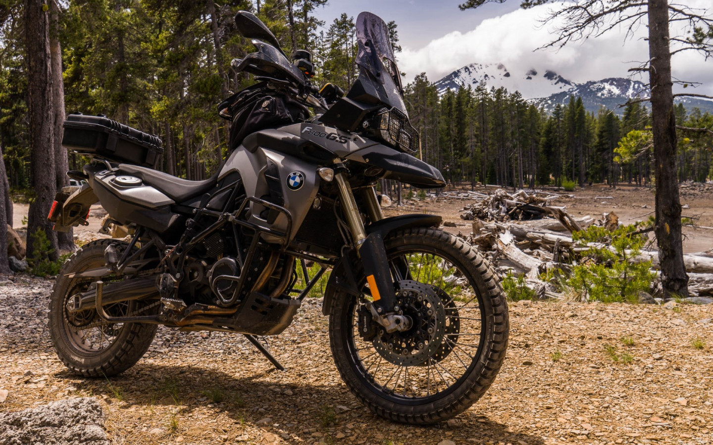 BMW F800GS motorcycle wallpaper 1440x900