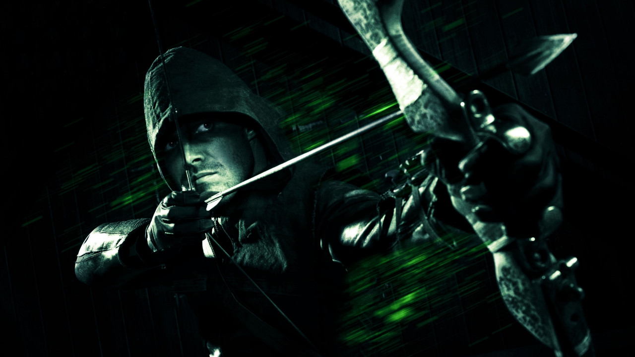 Green Arrow wallpaper 1280x720