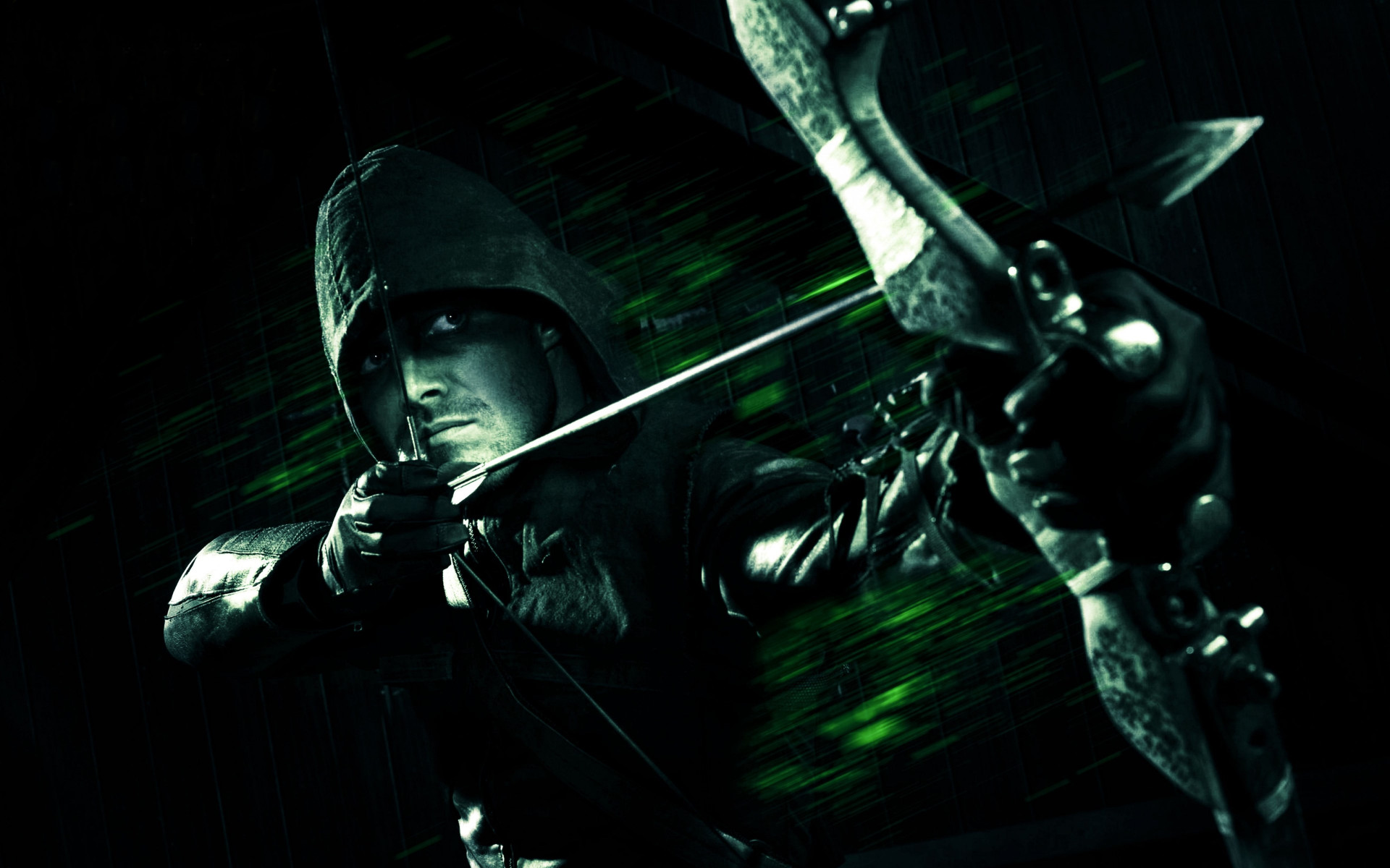 Green Arrow wallpaper 1920x1200
