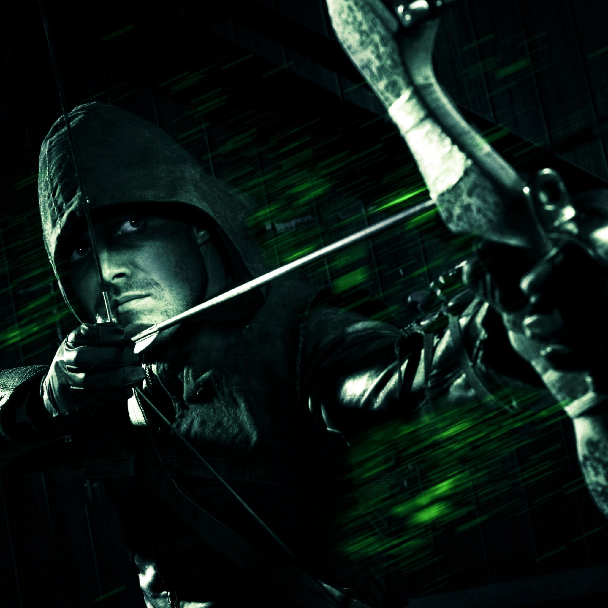 Green Arrow wallpaper 2048x2048