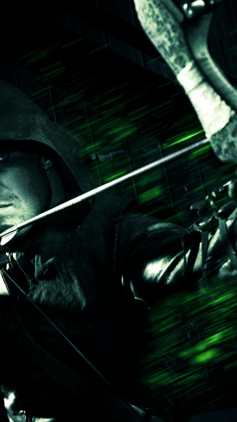 Green Arrow wallpaper 480x854