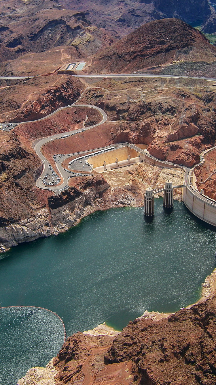 Hoover Dam wallpaper 750x1334