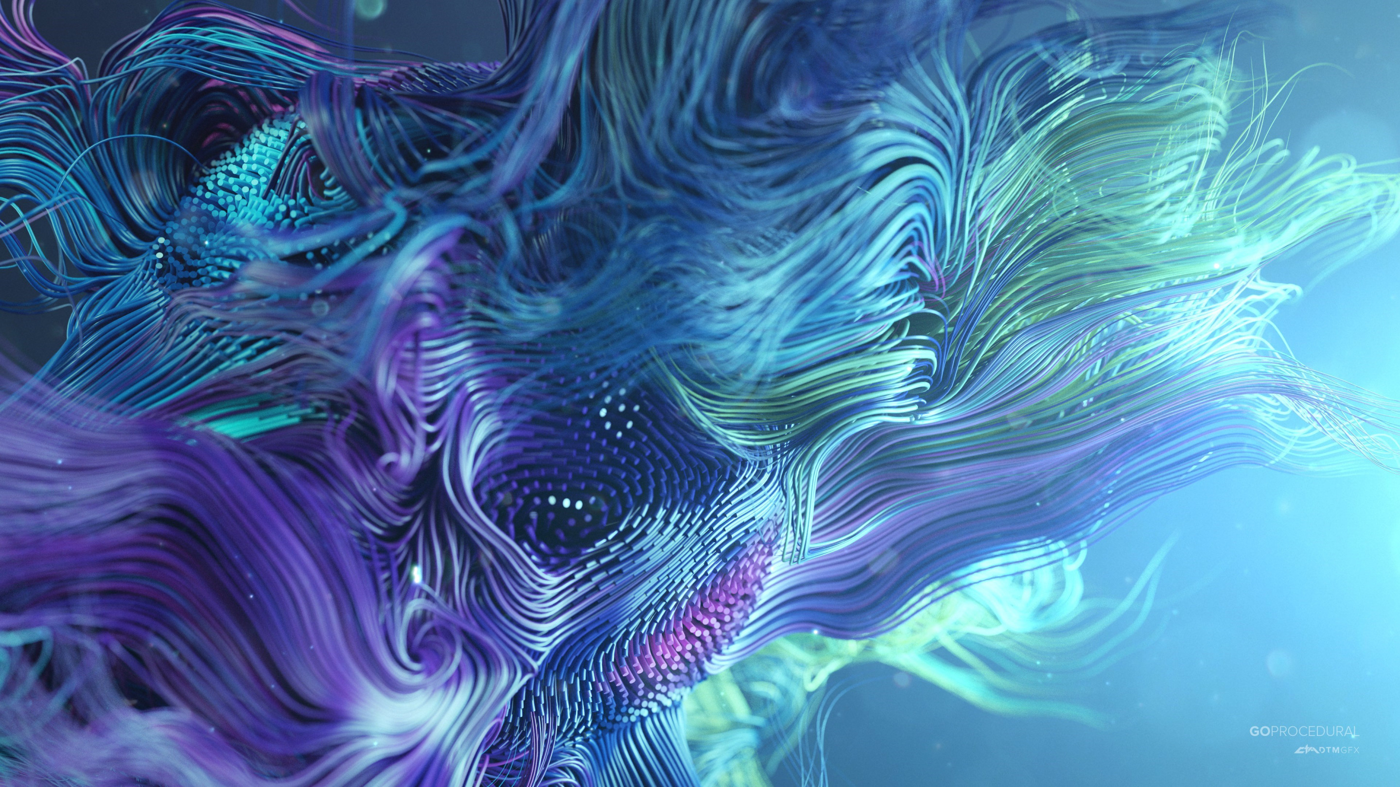 Abstract work wallpaper 2880x1620