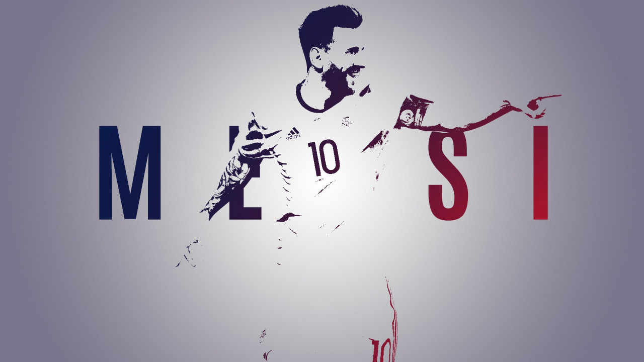 Leo Messi wallpaper 1280x720