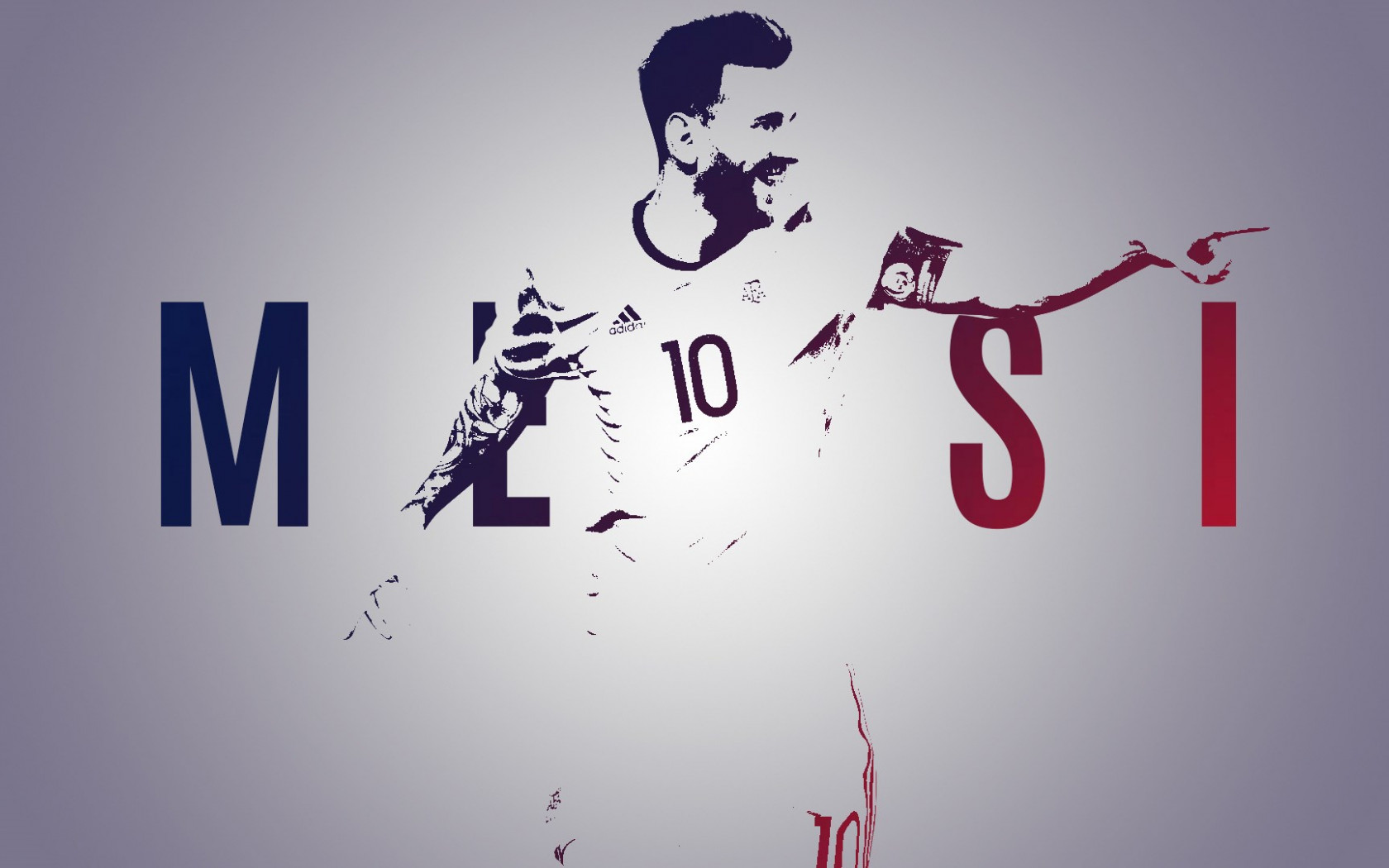 Leo Messi wallpaper 1680x1050