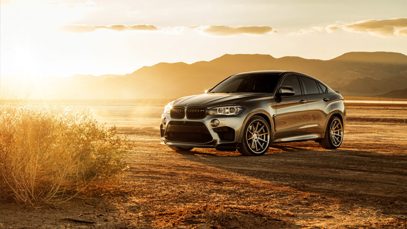 Ferrada BMW X6M Glory | 1366x768 wallpaper