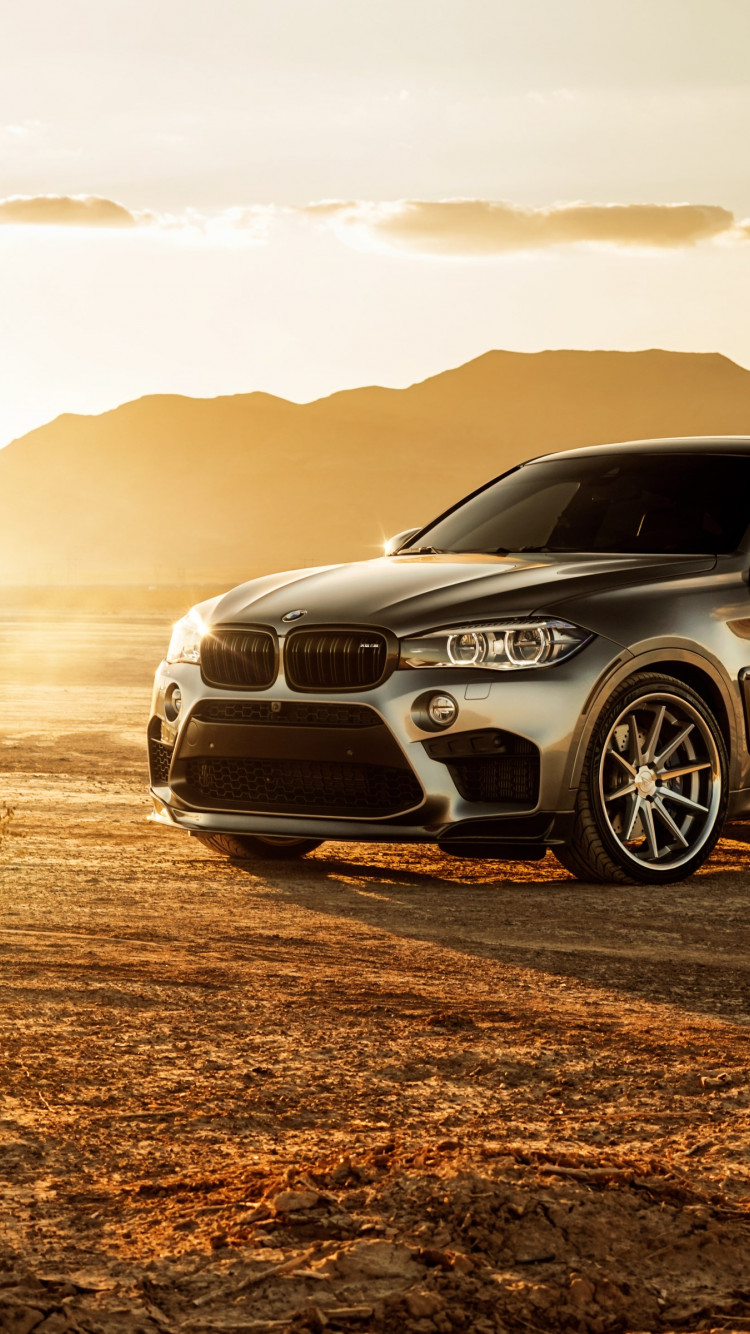 Ferrada BMW X6M Glory wallpaper 750x1334