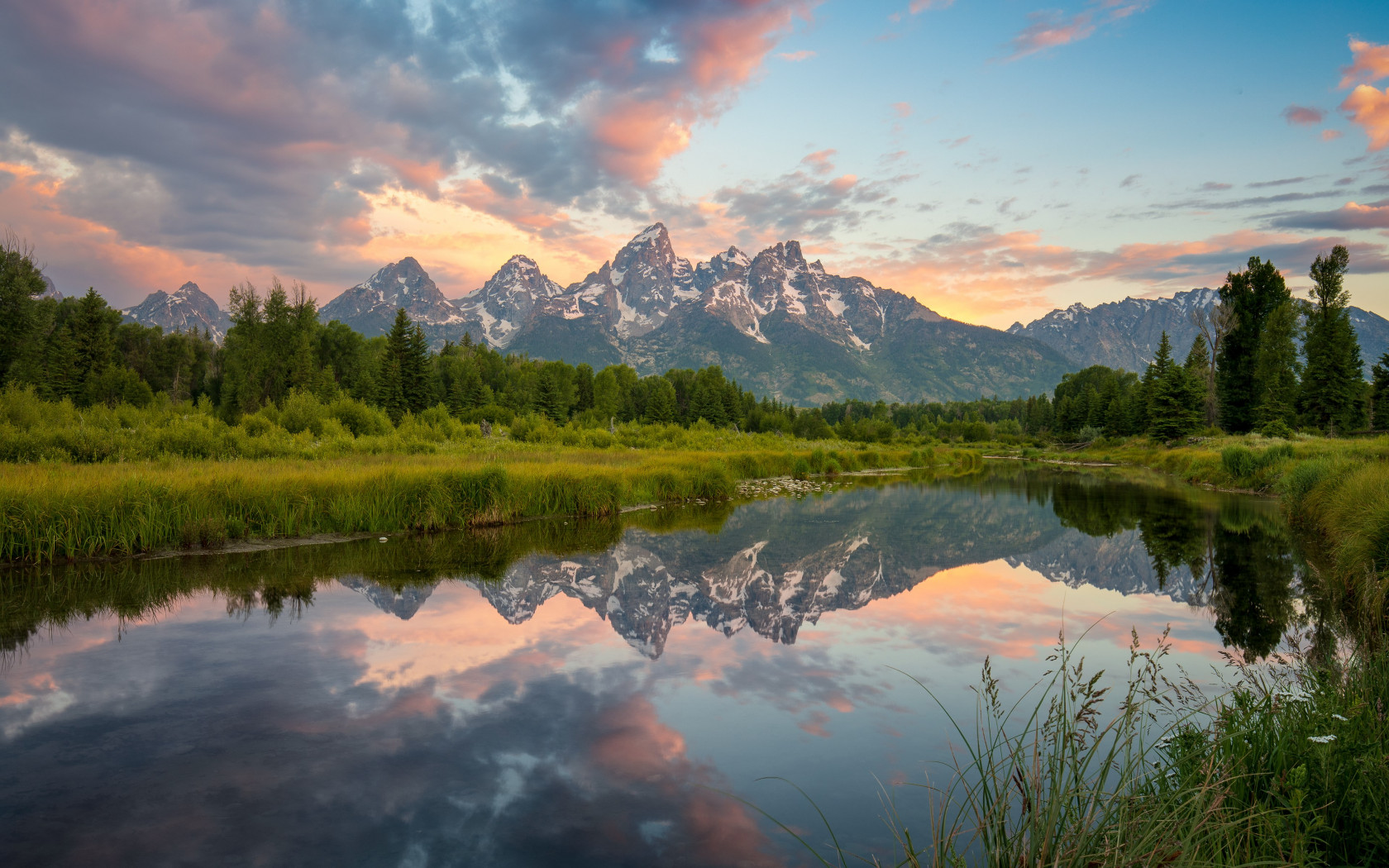 Grand Teton National Park wallpaper 1680x1050