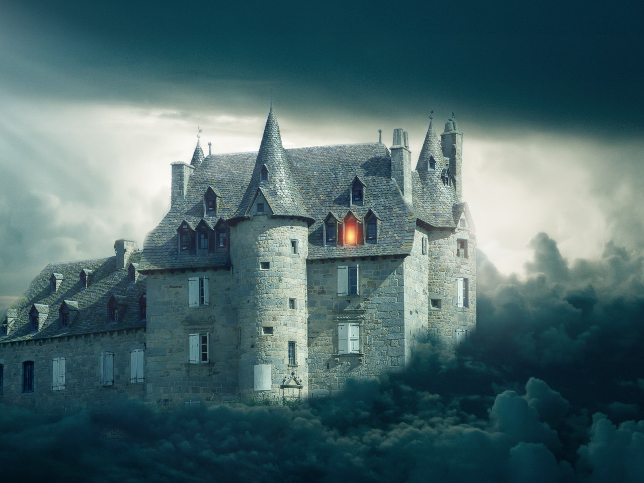 Gothic castle | 1280x960 wallpaper